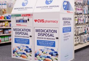 CVS Medication Disposal Drop Box
